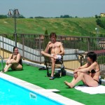 ALLIEVI IN PISCINA A TABIANO TERME